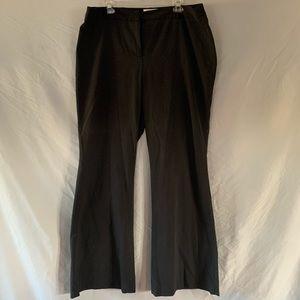 Covington Black Dress Pant 16W